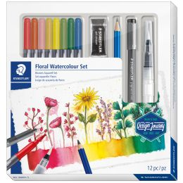 STAEDTLER Aquarell-Set Floral Watercolour Set