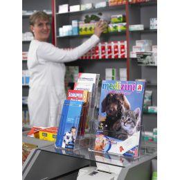 helit Tisch-Prospekthalter the helpdesk, A4 hoch, 1 Fach