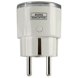 BURG-WÄCHTER SmartHome Steckdosen-Adapter BURGprotect, weiß