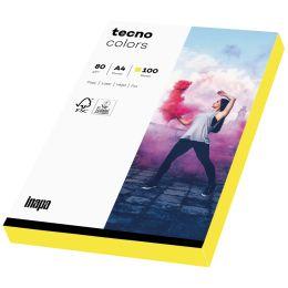 tecno Multifunktionspapier colors, A4, 80 g/qm, neonpink