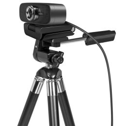 LogiLink Konferenz HD-USB-Webcam mit Dual-Mikrofon, 100 Grad
