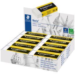 STAEDTLER Kunststoff-Radierer Noris, weiß, 20er Display