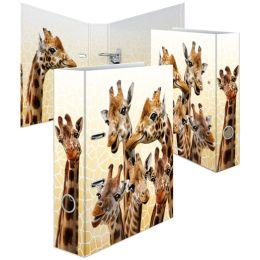 HERMA Motivordner Exotische Tiere, DIN A4, Giraffenfreunde