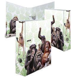 HERMA Motivordner Exotische Tiere, DIN A4, Affenbande