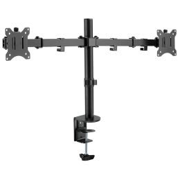 LogiLink TFT-/LCD-Doppel-Monitorarm, Armlänge: 390 mm