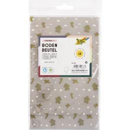 folia Weihnachts-Bodenbeutel, Maße: (B)145 x (H)235 mm