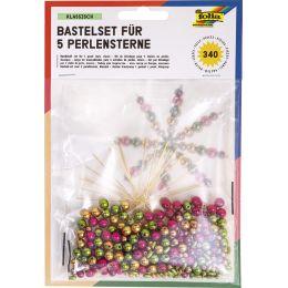 folia Perlensterne-Set Classic, 340-teilig