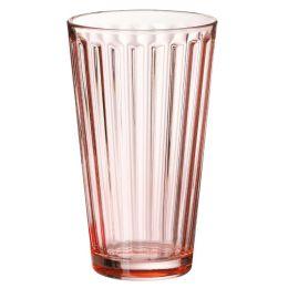 Ritzenhoff & Breker Longdrinkglas LAWE, 400 ml, rosa