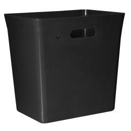 plast team Abfallbehälter AVEDORE, 20 Liter, schwarz