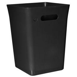 plast team Abfallbehälter AVEDORE, 15 Liter, schwarz