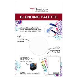 Tombow Blending Farbmisch-Palette für Doppelfasermaler ABT