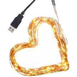 Clauss LED-Mini-Lichterkette, USB-Anschluss