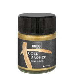 KREUL Flüssigbronze Gold Bronze, 50 ml
