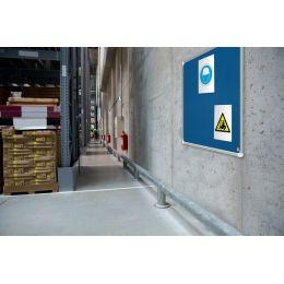 nobo Filztafel Premium Plus, (B)600 x (H)450 mm, blau