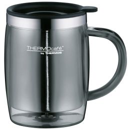 THERMOS Isolier-Tasse Desktop Mug TC, 0,35 Liter, grau