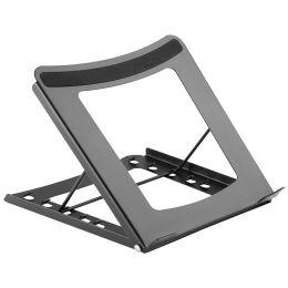 DIGITUS Mobiler Notebook-Ständer, aus Stahl, schwarz