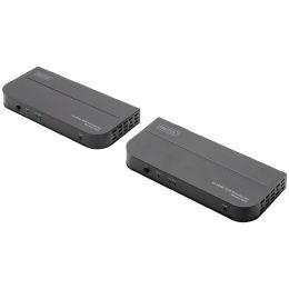 DIGITUS 4K HDMI KVM Extender Set, Kat. / IP, 100 m