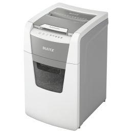 LEITZ Aktenvernichter IQ AutoFeed OfficePro 150 P4, weiß