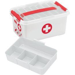 helit Aufbewahrungsbox the q-line - Erste Hilfe, 6 Liter