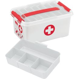 helit Aufbewahrungsbox the q-line - Erste Hilfe, 22 Liter