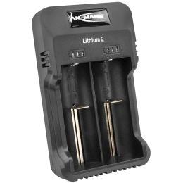ANSMANN Ladegerät Lithium 2, für NiMH & Li-Ion Akkus