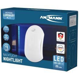 ANSMANN LED-Orientierungslicht NL25B, Batteriebetrieb, weiß