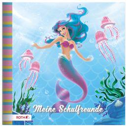 ROTH Freundebuch Meerjungfrau, 165 x 165 mm, 64 Seiten