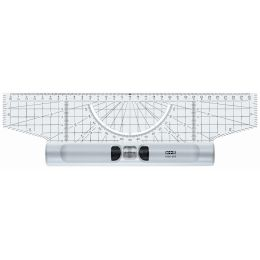 M+R Roll-Lineal, aus Acrylglas, Länge: 300 mm