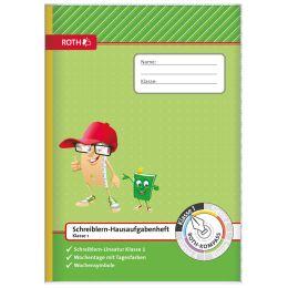 ROTH Schreiblern-Hausaufgabenheft Kompass, 1. Klasse, DIN A4