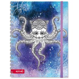 ROTH Schülerkalender Scribble Timer 2.0 Calamari