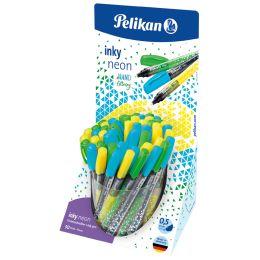 Pelikan Tintenschreiber inky 273 Neon, im Display
