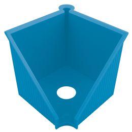 herlitz Zettelkasten GREENline, Kunststoff, blau