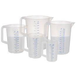 APS Messbecher, 0,5 Liter, transparent