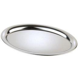 APS Serviertablett KAFFEEHAUS, oval, Edelstahl
