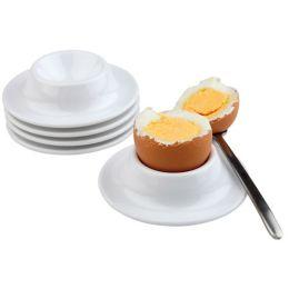 APS Eierbecher, aus Melamin, weiß, 4er Set