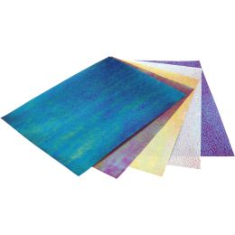 folia Irisierendes Papier, 75 g/qm, 230 x 330 mm, 10 Blatt
