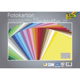 folia Fotokarton, (B)350 x (H)500 mm, 300 g/qm, sortiert