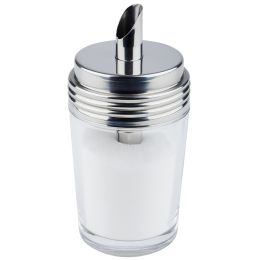 APS Zuckerdosierer, mit Dosierrohr, Edelstahl/Glas