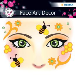 HERMA Face Art Sticker Gesichter Honey Bee