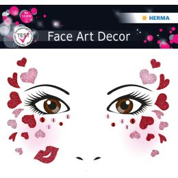 HERMA Face Art Sticker Gesichter Love