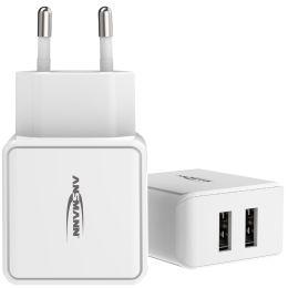 ANSMANN USB-Ladegerät Home Charger HC212, 2x USB-Kupplung