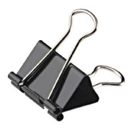 Wonday Foldback-Klammer, (B)19 mm, Klemmweite 6 mm, schwarz