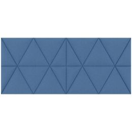 PAPERFLOW Akustik-Wandpaneel easySound, 1.120 x 485 mm, blau