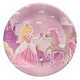 PAPSTAR Papp-Teller Fairytale Princess rund, 230 mm