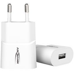 ANSMANN USB-Ladegerät Home Charger HC105, USB-Kupplung, weiß