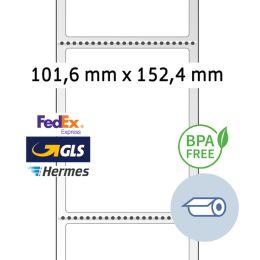 HERMA Thermodirekt-Versandetiketten, Rolle, 101,6 x 152,4 mm