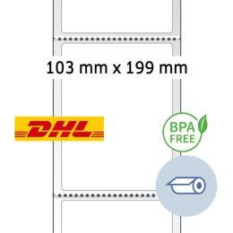 HERMA Thermodirekt-Versandetiketten, Rolle, 103 x 199 mm