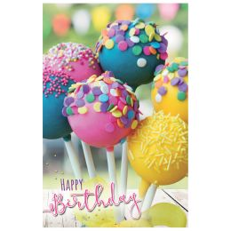 SUSY CARD Geburtstagskarte Cake Pops