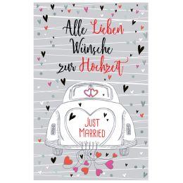 SUSY CARD Hochzeitskarte getrautes Glück