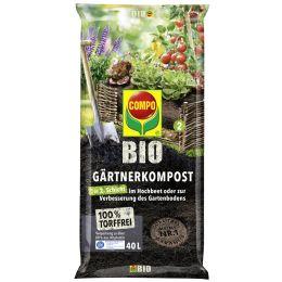 COMPO BIO Gärtnerkompost, 40 Liter
